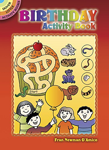 9780486444413: Birthday Activity Book (Dover Little Activity Books)