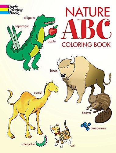 Nature ABC Coloring Book Dover Books
