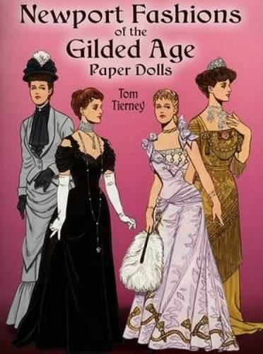 9780486444499: Newport Fashions of the Gilded Age Paper Dolls (Dover Victorian Paper Dolls)