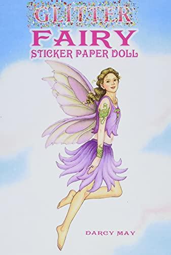 9780486444512: Glitter Fairy Sticker Paper Doll