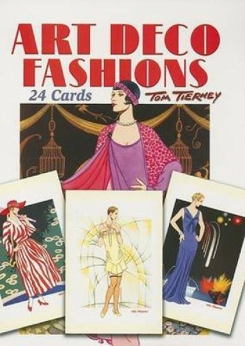 9780486444529: Art Deco Fashions: 24 Cards (Dover Postcards)