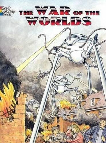 9780486444550: The War of the Worlds Coloring Book (Dover Classic Stories Coloring Book)