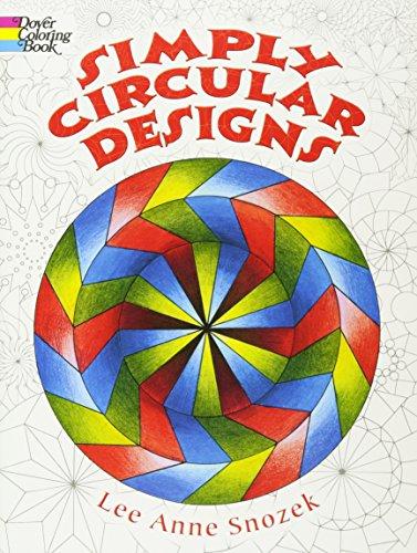 9780486444611: Simply Circular Designs Coloring Book (Dover Design Coloring Books)