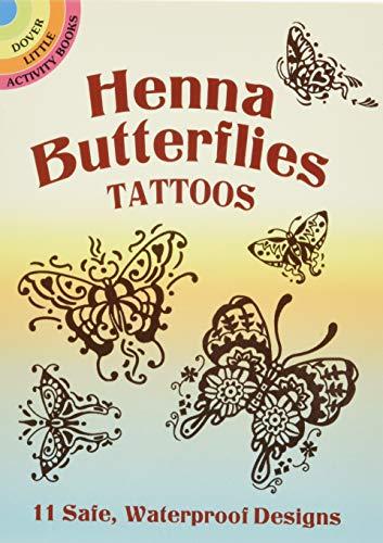 9780486444741: Henna Butterflies Tattoos (Dover Tattoos)