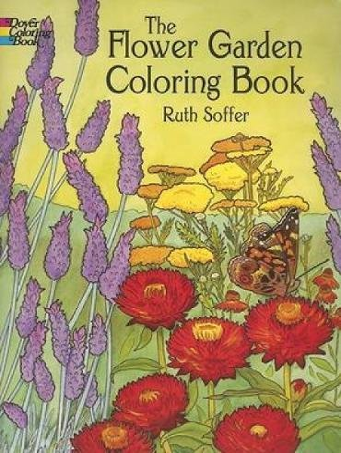 9780486444970: The Flower Garden Coloring Book (Dover Nature Coloring Book)