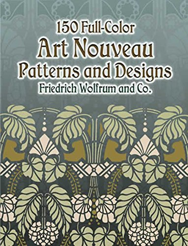9780486445113: 150 Full-Color Art Nouveau Patterns and Designs (Dover Pictorial Archive)
