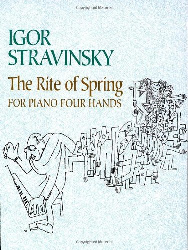 9780486445397: The Rite of Spring for Piano Four Hands (Dover Classical Music for Keyboard)