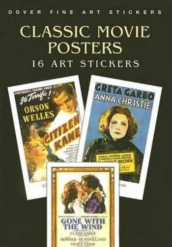 9780486445427: Classic Movie Posters: 16 Art Stickers (Dover Stickers)