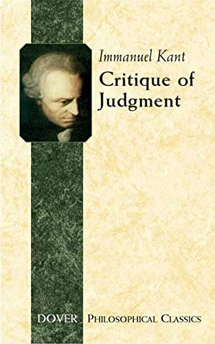 9780486445434: Critique of Judgment (Dover Philosophical Classics)