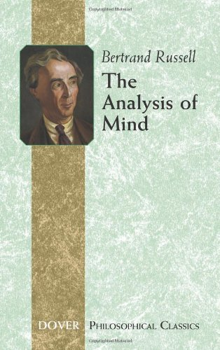 9780486445519: The Analysis of Mind (Dover Philosophical Classics)
