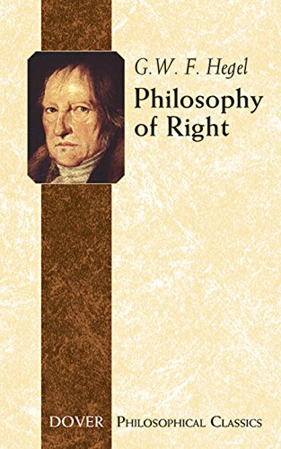 9780486445632: Philosophy of Right (Dover Philosophical Classics)