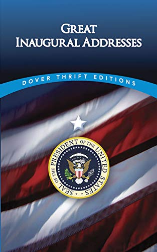 9780486445779: Great Inaugural Addresses (Dover Thrift Editions)