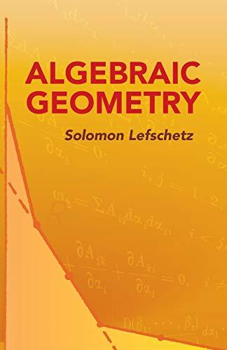 9780486446110: Algebraic Geometry (Dover Books on Mathematics)