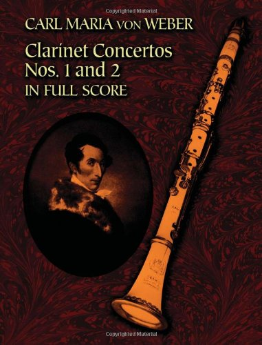 9780486446288: Clarinet Concertos Nos. 1 and 2 in Full Score (Dover Music Scores)