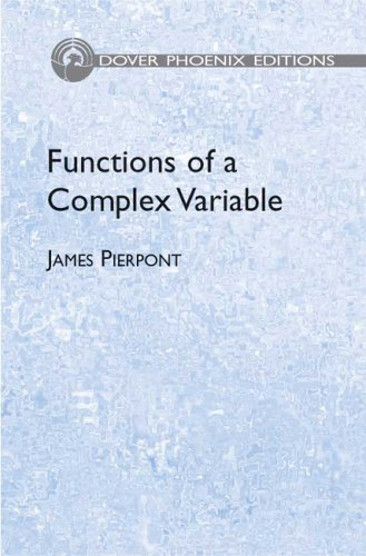 9780486446448: Functions of a Complex Variable (Dover Phoenix Editions)