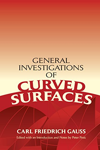 9780486446455: General Investigations of Curved Surfaces (Dover Books on Mathematics)