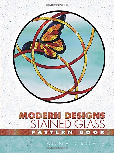 9780486446622: Modern Designs Stained Glass Pattern Book