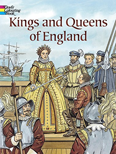 9780486446660: Kings and Queens of England Coloring Book (Dover History Coloring Book)