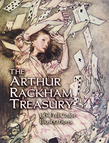 9780486446851: The Arthur Rackham Treasury: 86 Full-Color Illustrations (Dover Fine Art, History of Art)