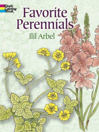 9780486447094: Favorite Perennials (Dover Coloring Books)