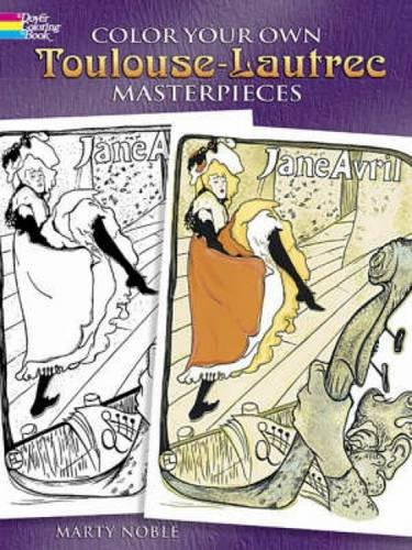 9780486447148: Color Your Own Toulouse-Lautrec Masterpieces