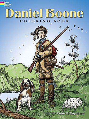 9780486447384: Daniel Boone Coloring Book (Dover History Coloring Book)