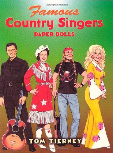 9780486447414: Famous Country Singers Paper Dolls