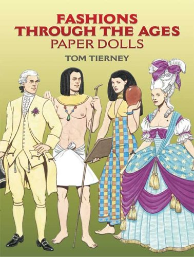 9780486447452: Fashions Through the Ages Paper Dolls