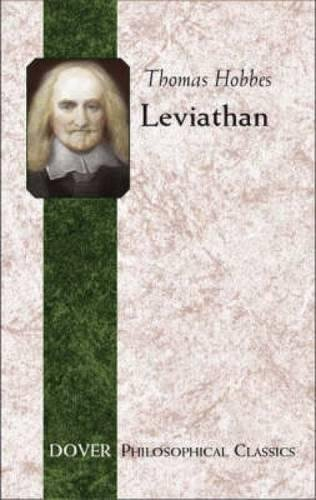 Leviathan (Dover Philosophical Classics): Thomas Hobbes
