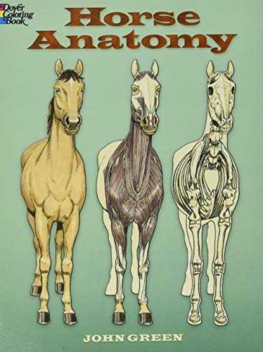 9780486448138: Horse Anatomy (Dover Nature Coloring Book)