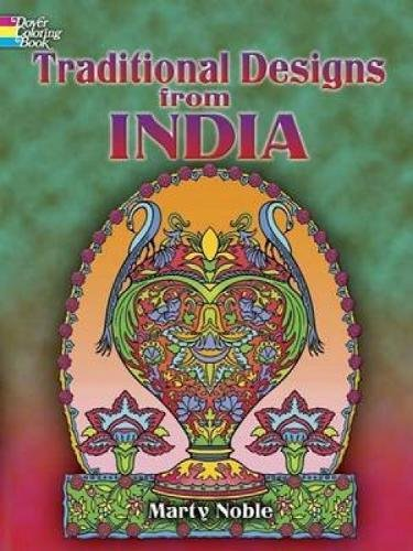 9780486448152: Traditional Designs from India (Dover Design Coloring Books)