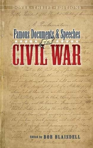 9780486448510: Famous Documents & Speeches of the Civil War