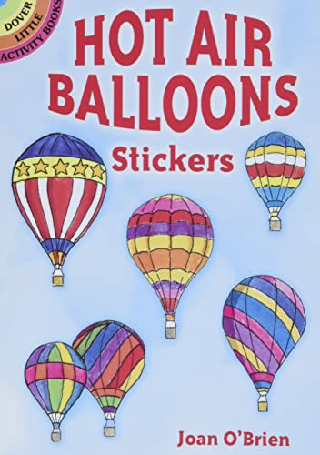 Hot Air Balloons Stickers (Dover Stickers): O'Brien, Joan