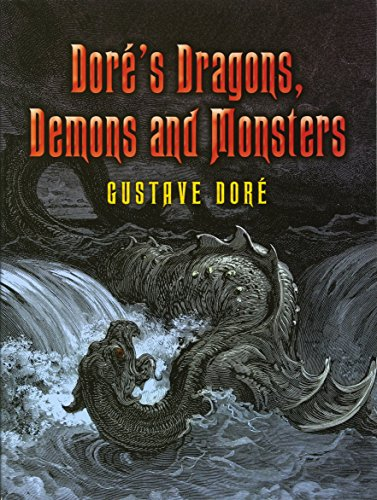 9780486448893: Dore's Dragons, Demons and Monsters (Dover Fine Art, History of Art)