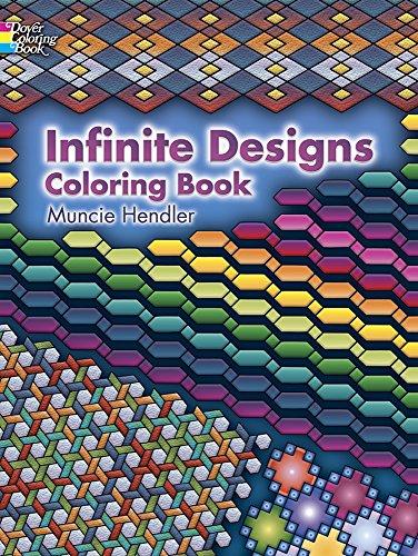 9780486448923: Infinite Designs Coloring Book