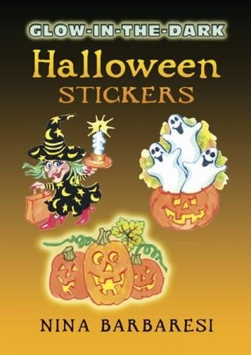 9780486449227: Glow-in-the-Dark Halloween Stickers (Dover Little Activity Books Stickers)