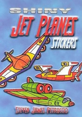 9780486449258: Shiny Jet Planes Stickers (Dover Little Activity Books Stickers)