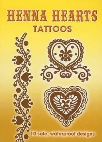 9780486449418: Henna Hearts Tattoos (Dover Tattoos)