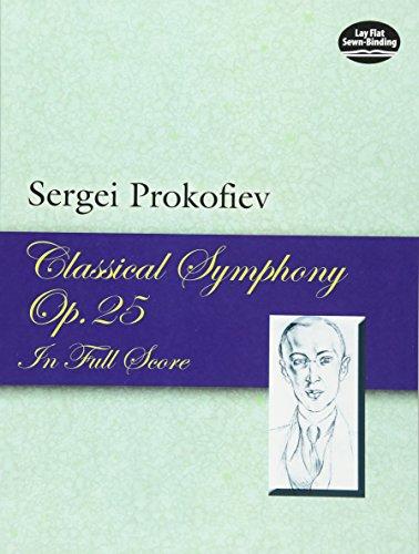 9780486449500: Classical Symphony, Opus 25 in Full Score