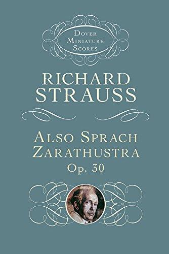 9780486449524: Also Sprach Zarathustra, Op. 30 (Dover Miniature Scores)