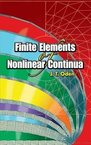 9780486449739: Finite Elements of Nonlinear Continua (Dover Civil and Mechanical Engineering)