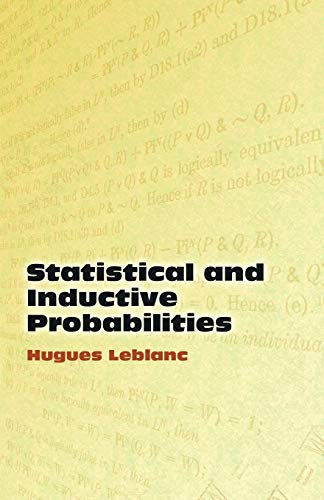 9780486449807: Statistical and Inductive Probabilities (Dover Books on Mathematics)