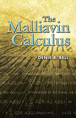 The Malliavin Calculus (Paperback)