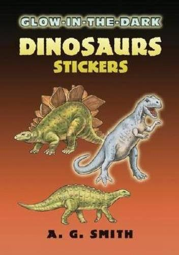 9780486449975: Glow-In-The-Dark Dinosaurs Stickers (Dover Little Activity Books Stickers)