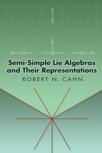 9780486449999: Semi-Simple Lie Algebras and Their Representations (Dover Books on Mathematics)