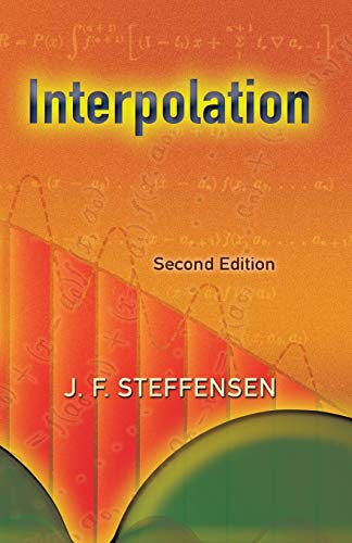 9780486450094: Interpolation: Second Edition (Dover Books on Mathematics)