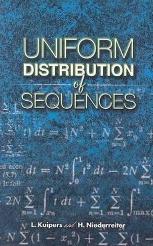 9780486450193: Uniform Distribution of Sequences (Dover Books on Mathematics)