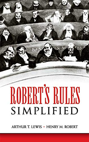 9780486450964: Robert's Rules Simplified