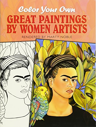 9780486451084: Color Your Own Great Paintings by Women Artists (Dover Art Coloring Book)
