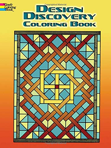 9780486451091: Design Discovery Coloring Book (Dover Design Coloring Books)